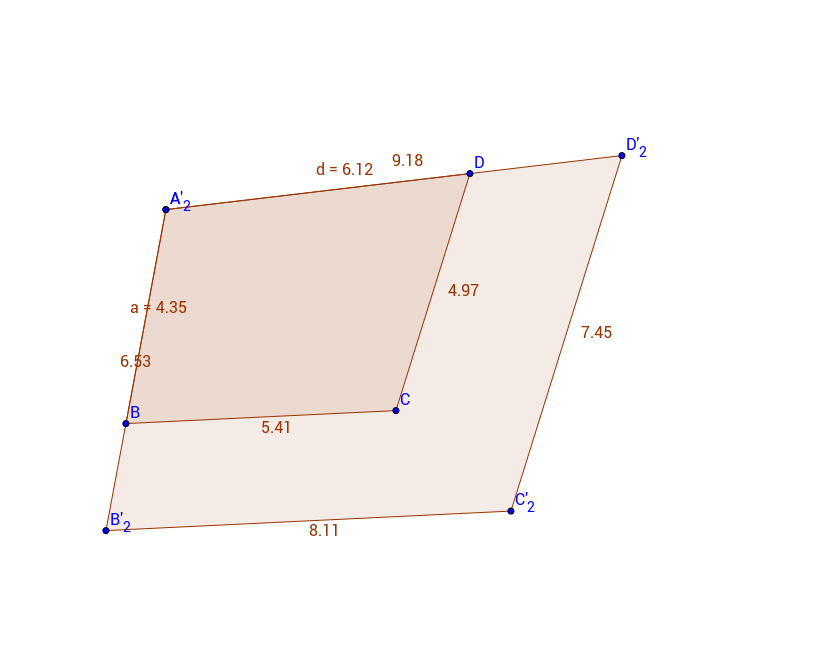 Dilations with Quadrilaterals