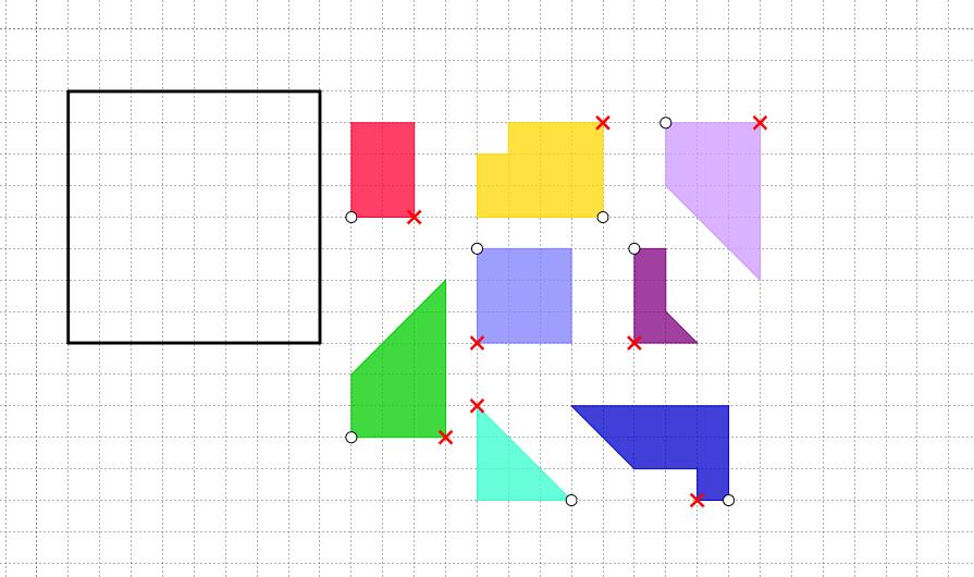 I nostri «tangram» (Michele)