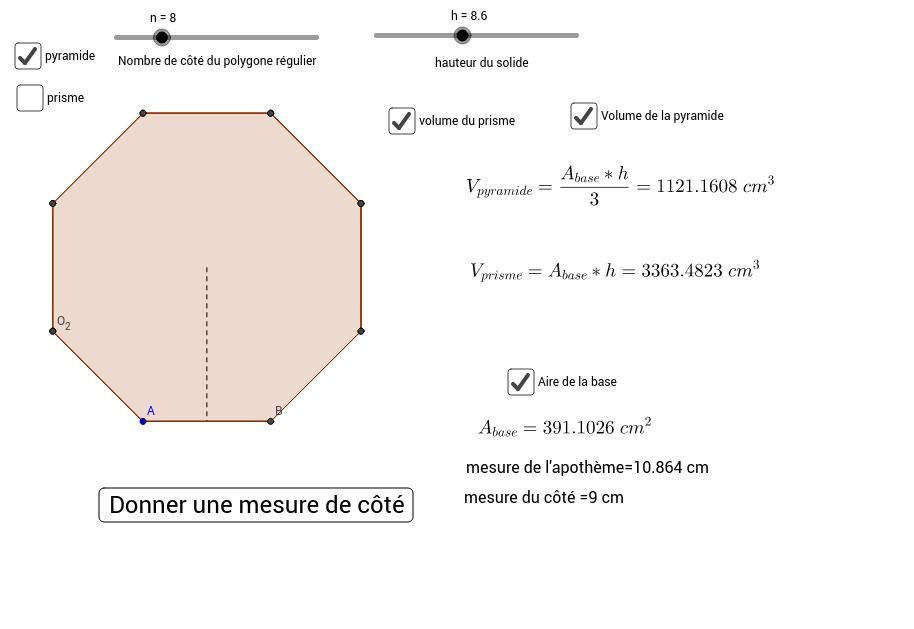 Copie de Volume prisme et pyramide