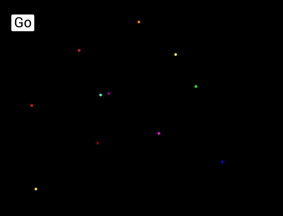 Voronoi Diagram Animation