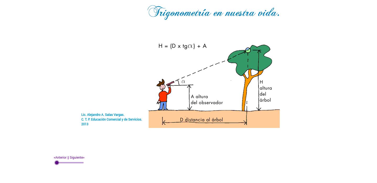 Trigonometría Aplicada