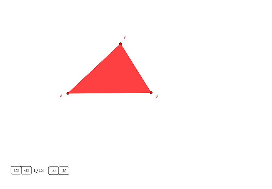 Circuncentro y circuncírculo de un triángulo