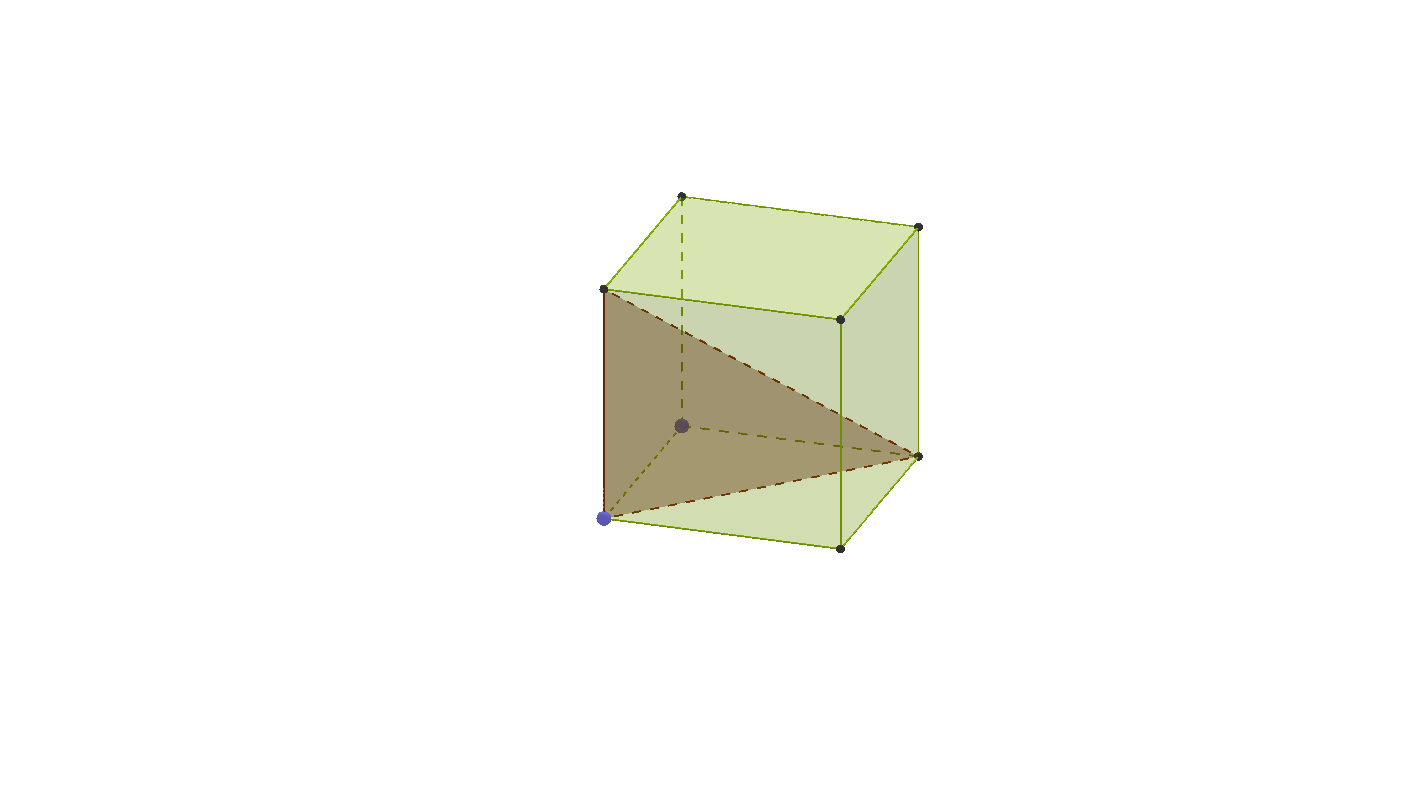 A triangle in 3D