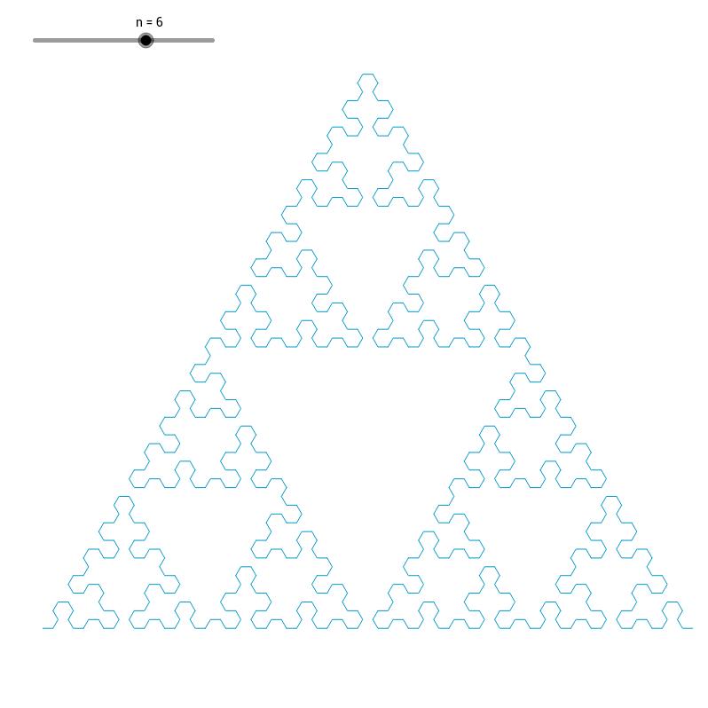 Sierpinski arrowhead curve