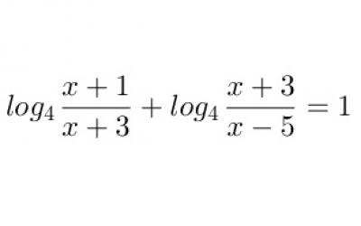 Logaritmikus egyenlet megoldása többféleképpen 1.