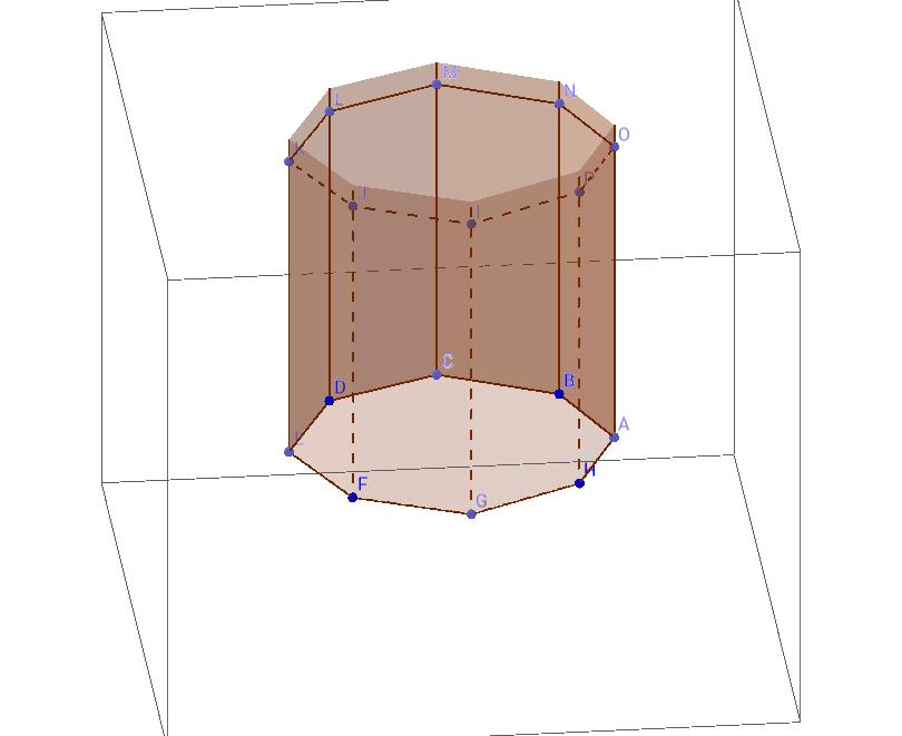 prisma oktogonala