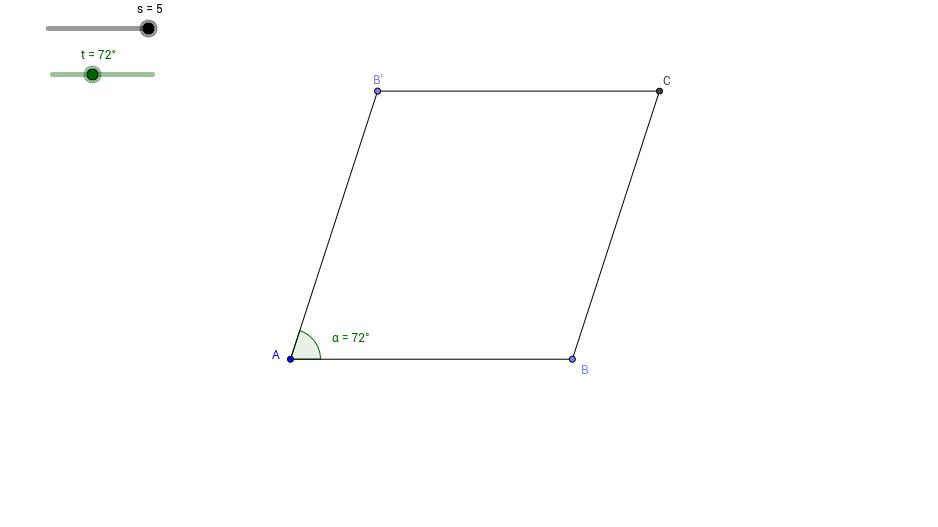 Sliders and Rhombus