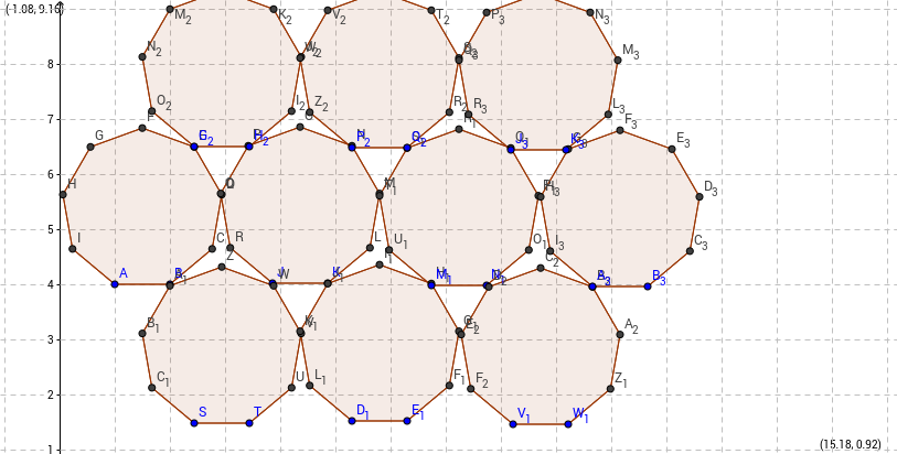 9-sided polygons