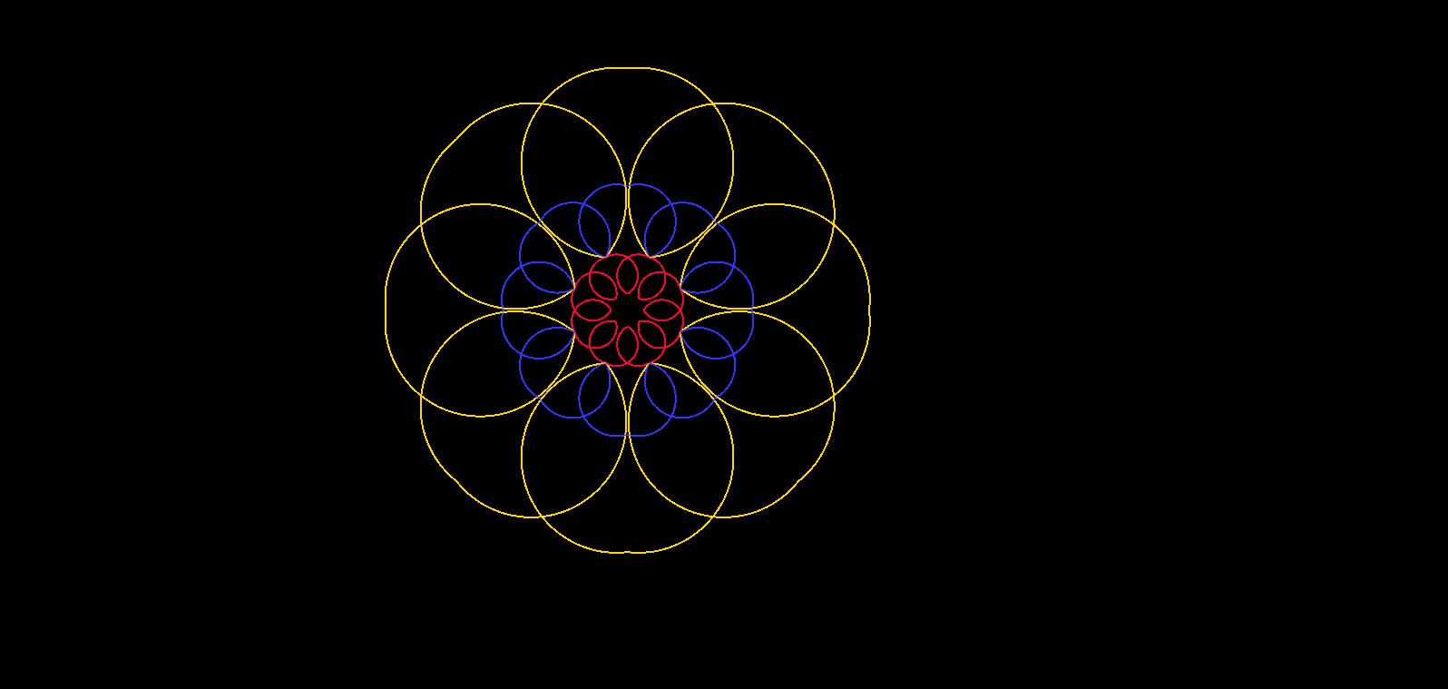 Animacja oparta na dwusiecznych i symetrii osiowej