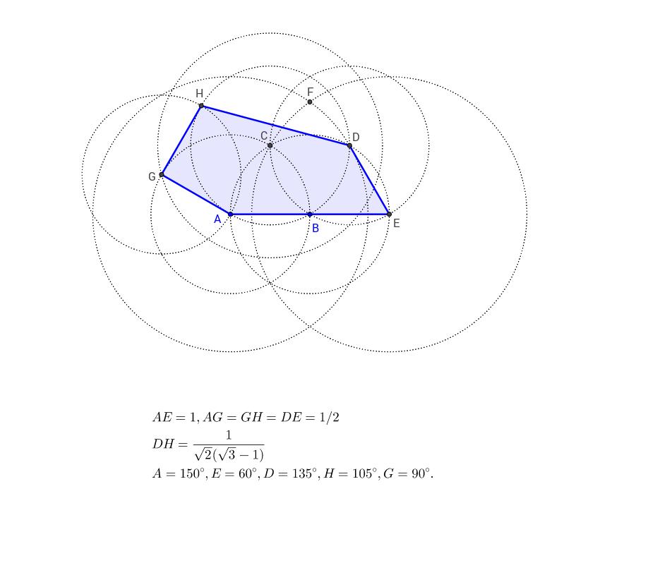 Le pentagone de Bothell