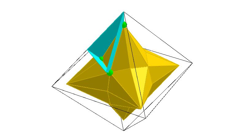 Coxeter's Kaleidoscopic Cell 3