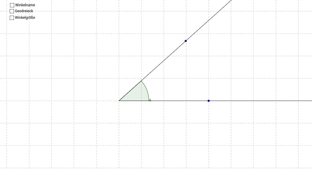Winkel benennen und messen