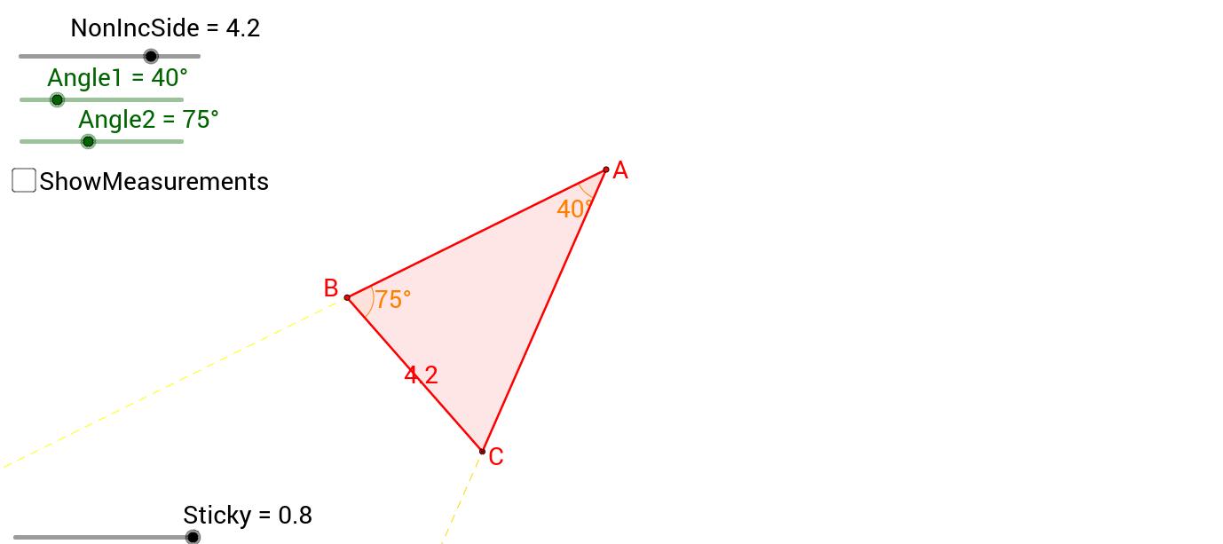 Triangle Congruence - AAS