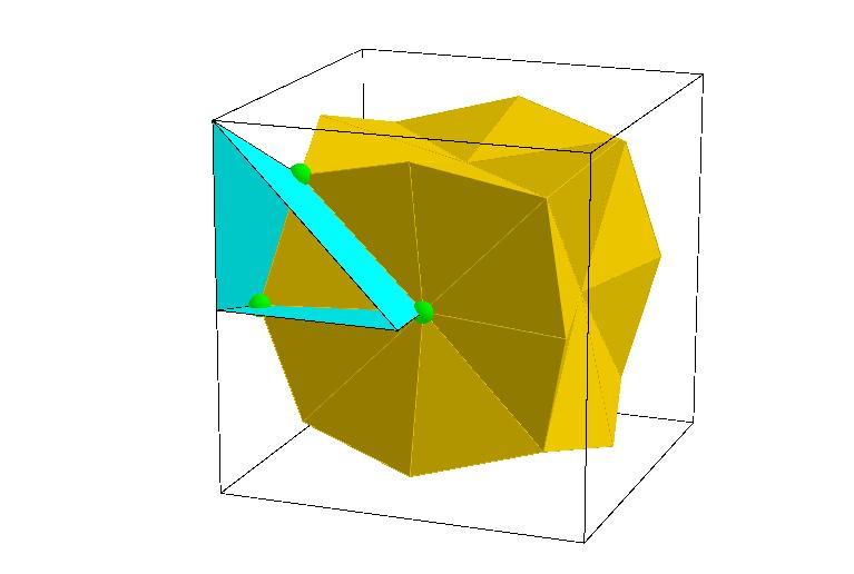 Coxeter's Kaleidoscopic Cell 1
