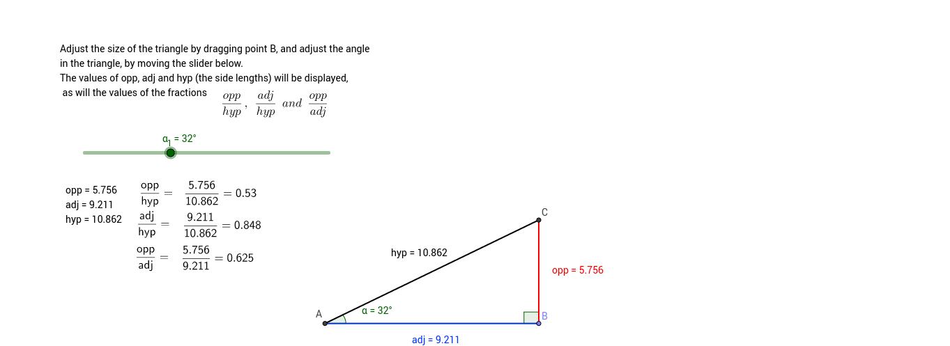GCSE trigonometry