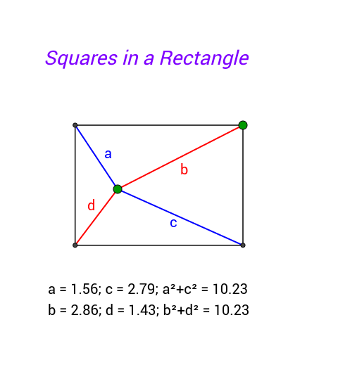 Squares in a Rectangle