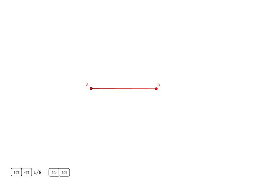 Dividir un segmento con la sección áurea (II)