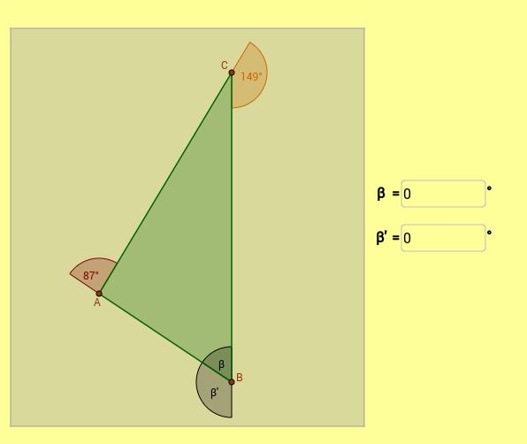 Kutovi trokuta - igra