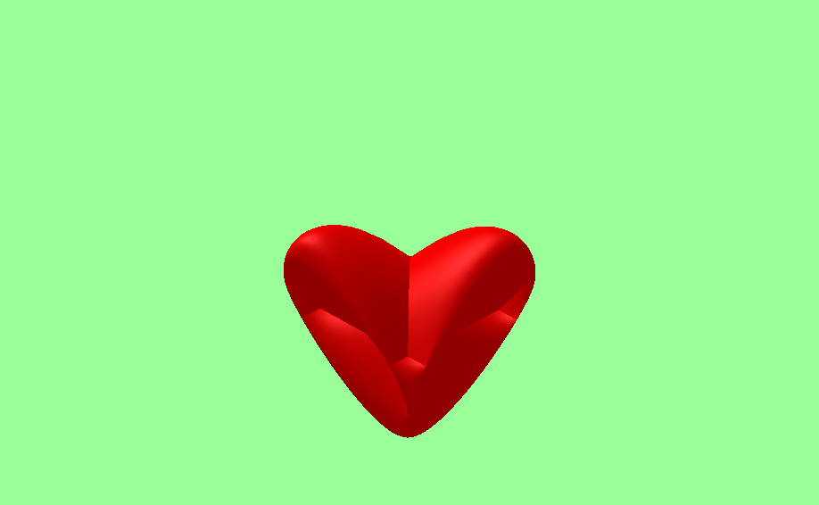 3D cuore heart