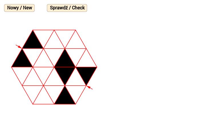 Sześciokątny wzór 1 / Hexagonal pattern 1