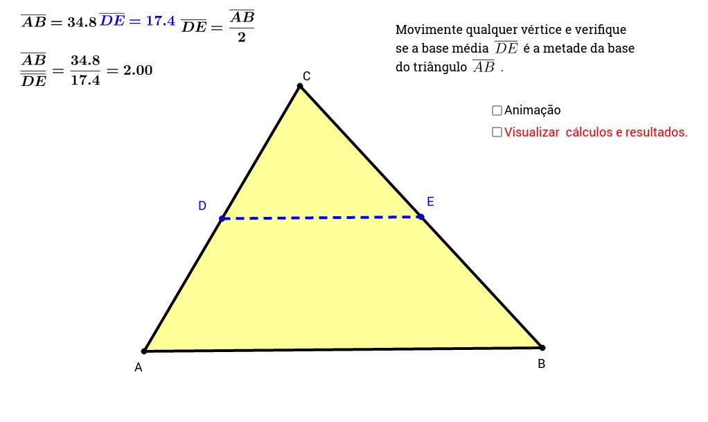 Base Média do Triângulo