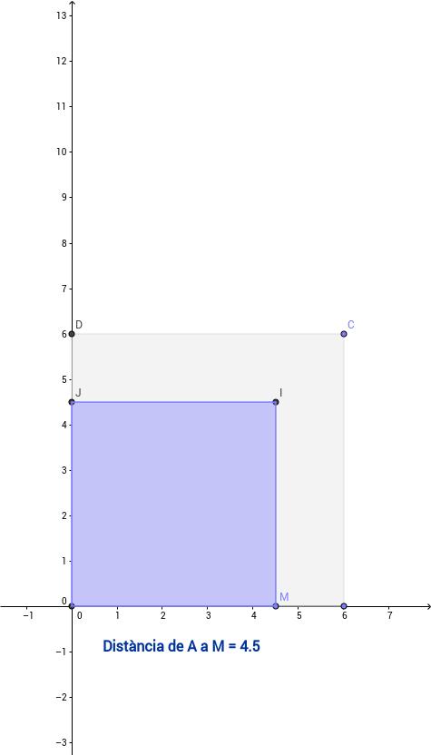 Volum d'un prisma dins d'un cub