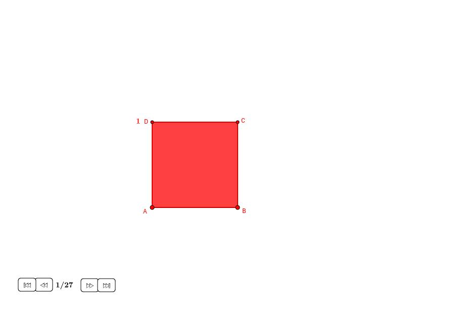 Rectángulos raíz desde un cuadrado (II)