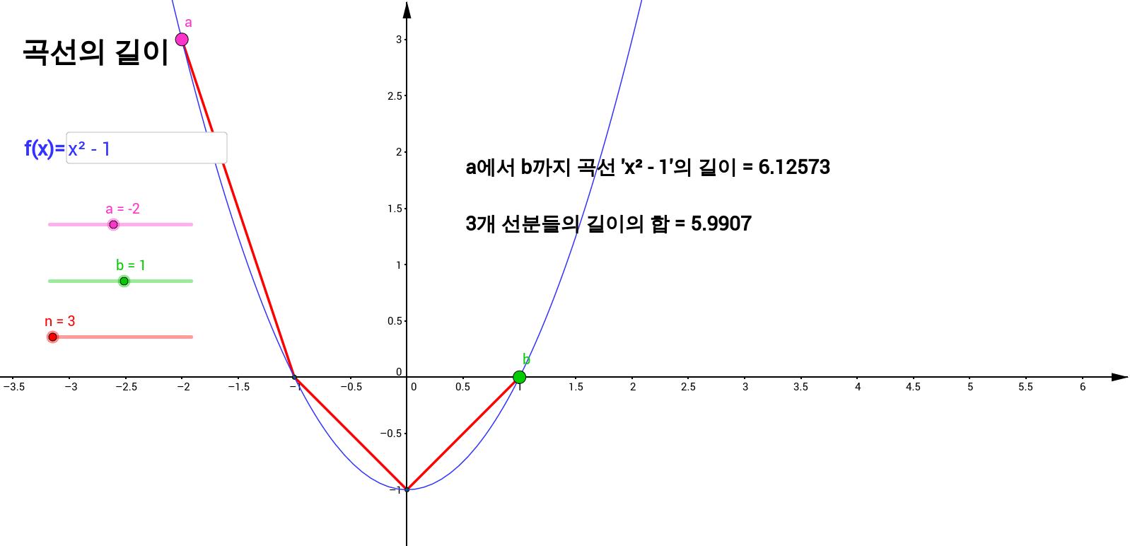 곡선의 길이