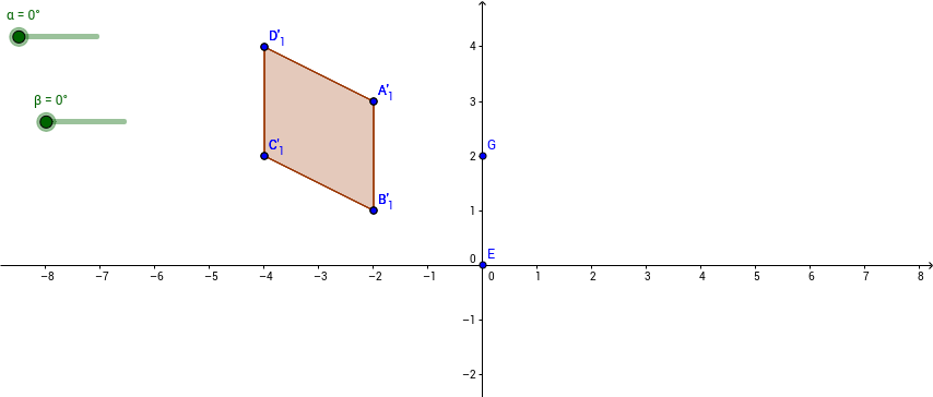 Rotation of polygon around 2 distinct points