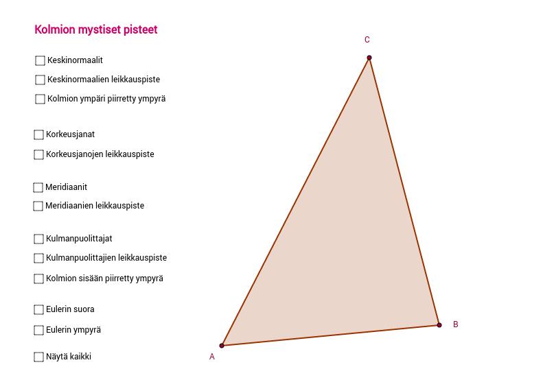 Mystistä geometriaa