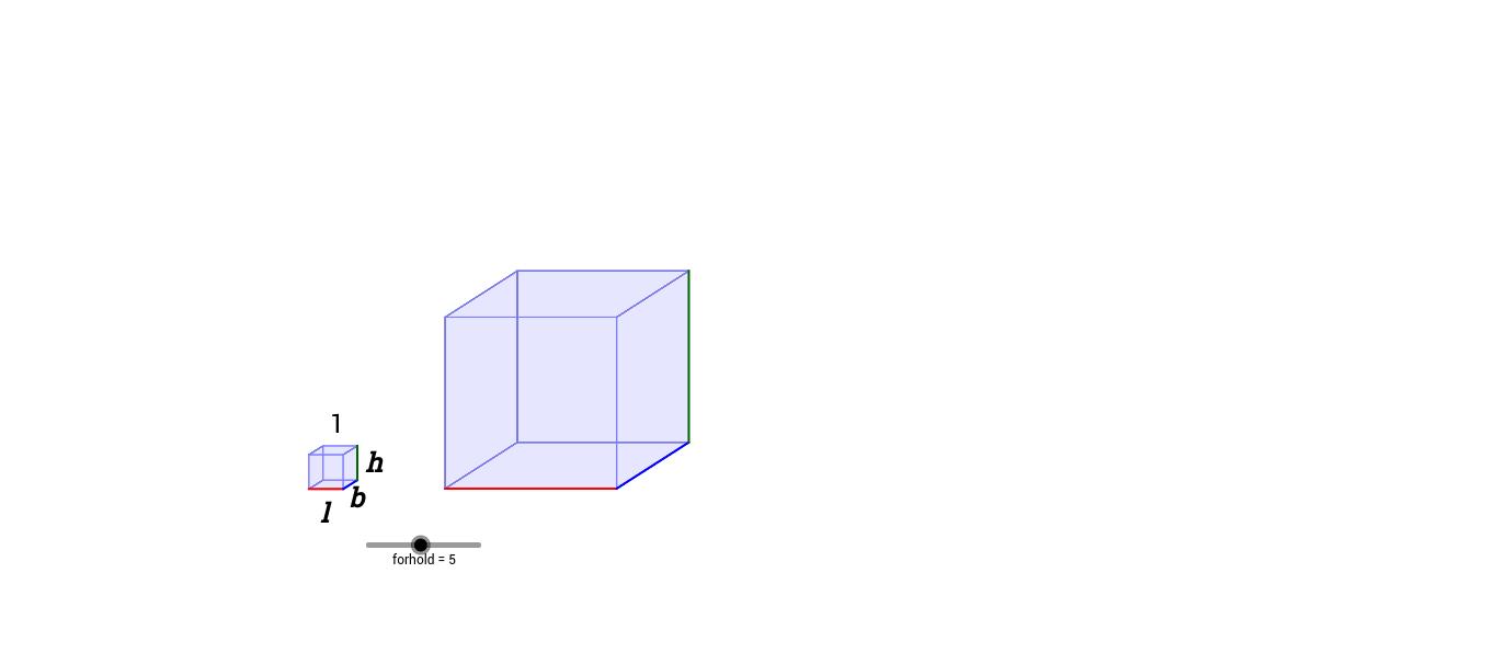cube  med glider