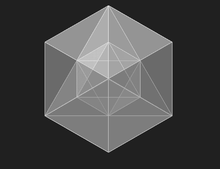 Cubo, Tetraedro y Octaedro