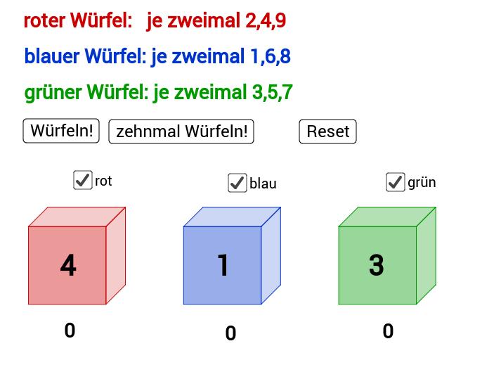 Efron Würfel