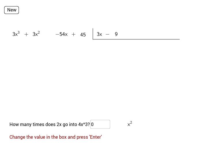 Polynomial Long Division GeoGebra – Polynomial Long Division Worksheets