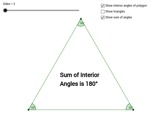 Copy of Sum of the Interior Angles of a Polygon
