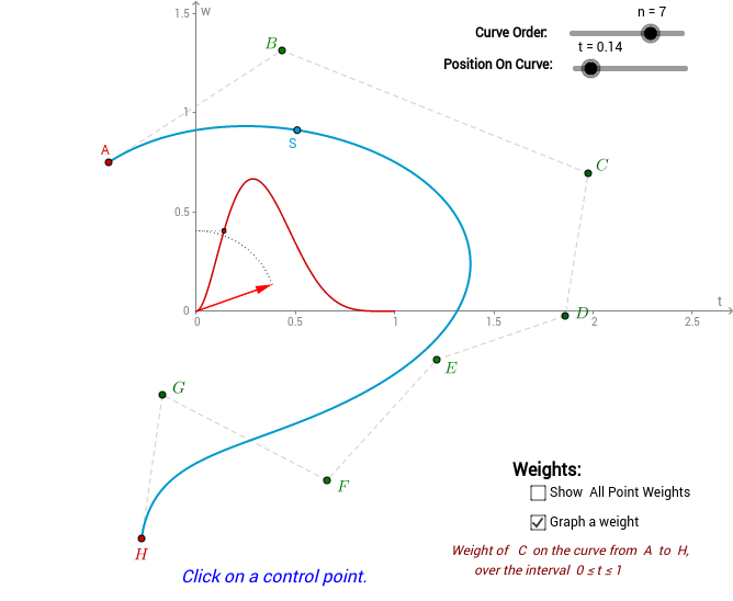 Bezier Curves 2: higher order polynomials