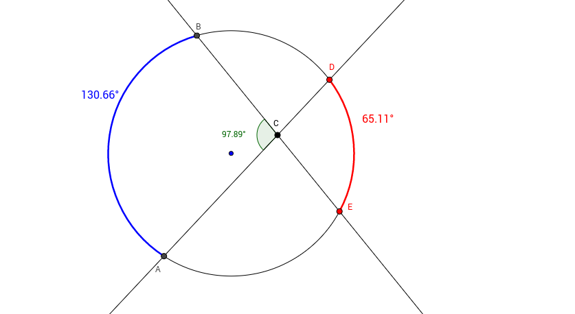 Secants and Chords Intersecting inside a Circle