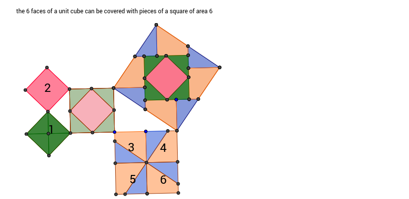 quadrature of cube