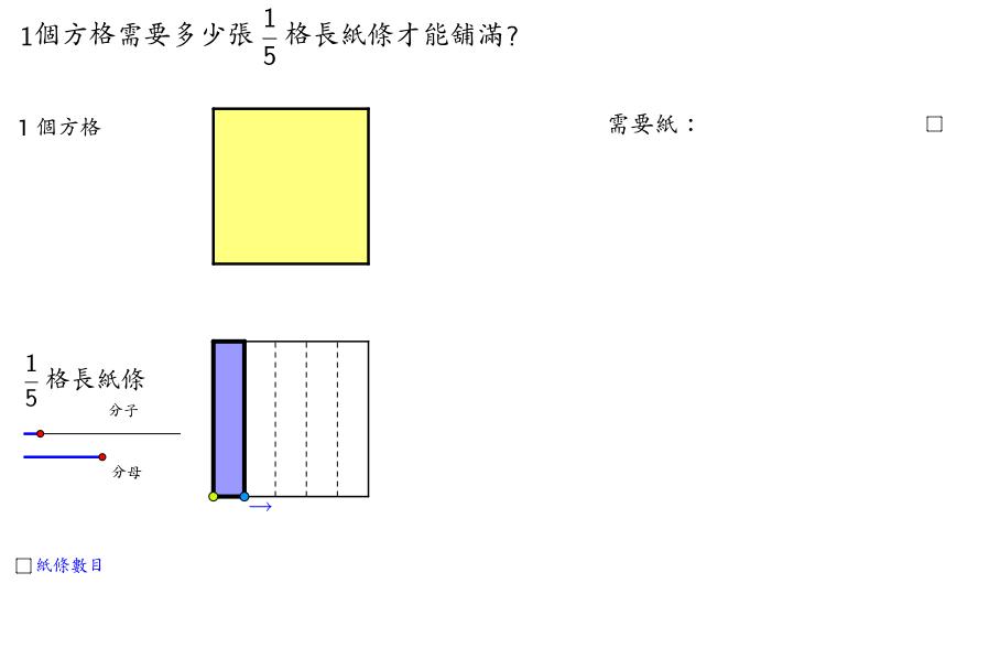 分數除法4: 1 ÷ a/b (包含)