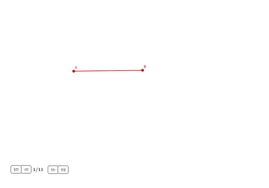 Extender un segmento con la sección áurea