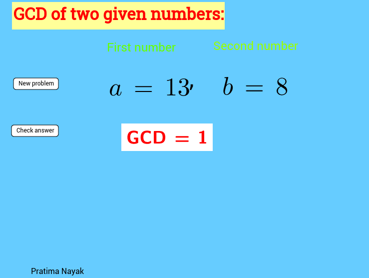 Click on the new and learn GCD
