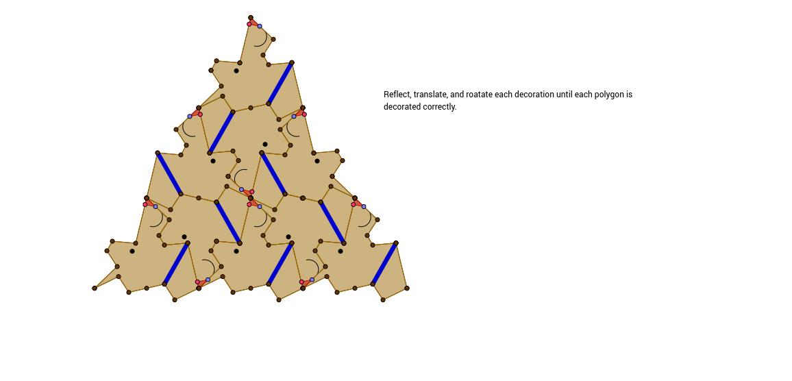 Rotation Tessellation Triangle Step 20