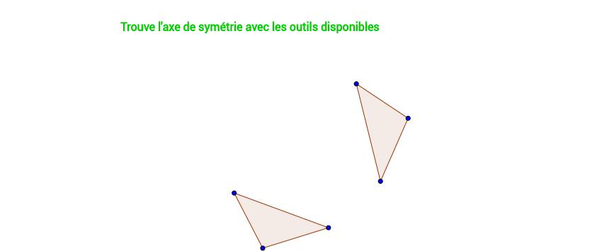 Trouve l'axe de symétrie 1/7