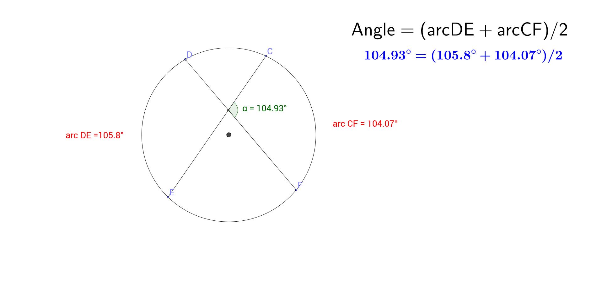Chord-Chord Angle