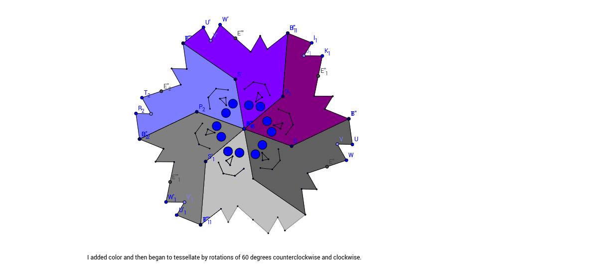 Emma Johnson Triangle Tessellation 9