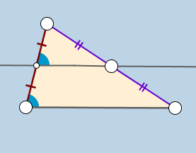 Special Line through Triangle V1 (Theorem Discovery)
