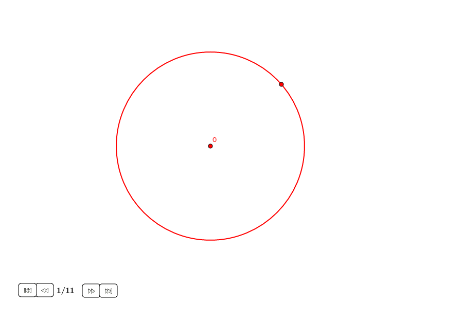 Cuadrado en un círculo (II)