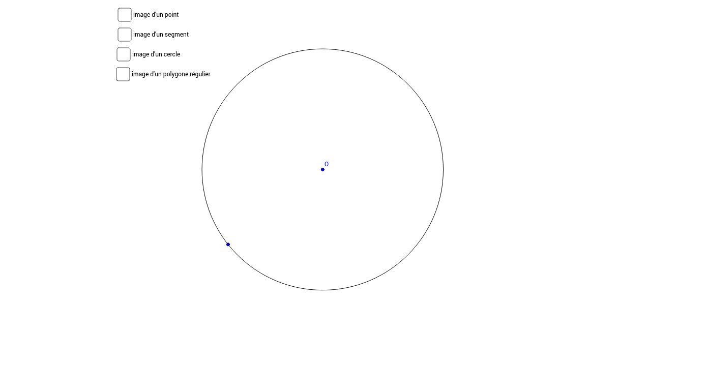 Anamorphose cylindrique - transformation de points