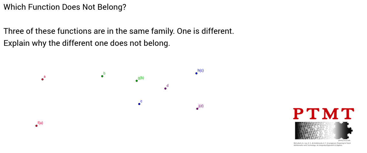 Function Families 2