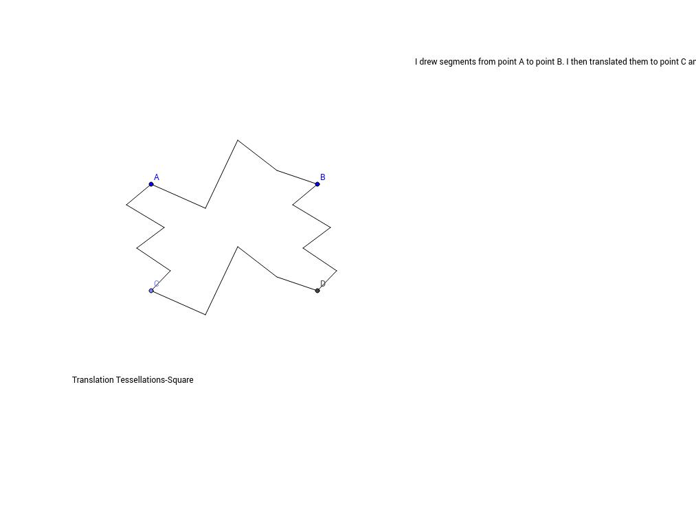 Translation Tessellation-Square